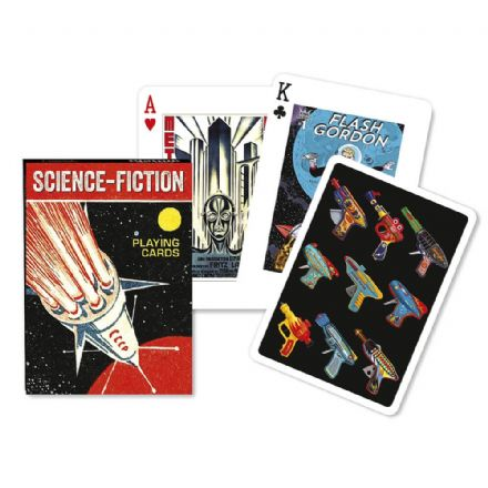 Piatnik Science Fiction Playing Cards